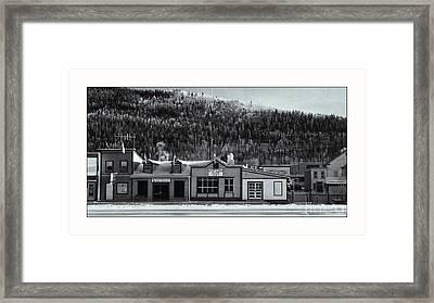 Front Street Framed Print by Priska Wettstein