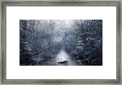 Frozen Time Framed Print by Svetlana Sewell