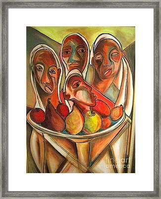 Fruit Of My Lions Framed Print by Robert Daniels