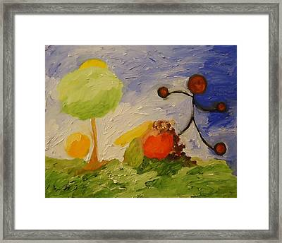 Fruitful - Producing Something In Abundance. Framed Print by Cory Green