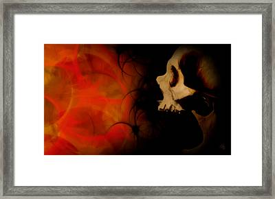Frustration Framed Print by Vic Weiford