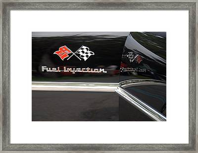 Fuel Injection X 2 Framed Print by John Schneider