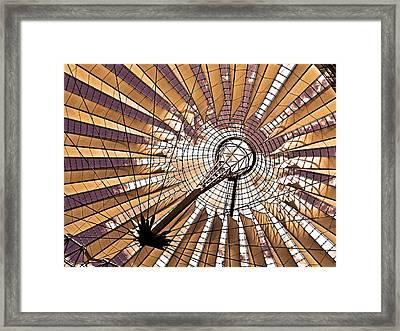 Fujisan In Berlin Framed Print by Juergen Weiss