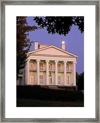 Full Moon ...  Framed Print by Juergen Weiss