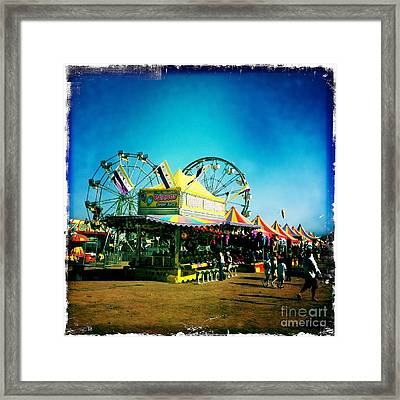 Fun At The Fair Framed Print by Nina Prommer