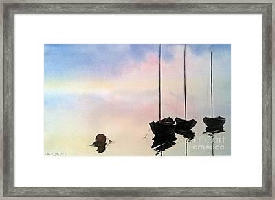 Fundy Morning Framed Print by Don F  Bradford