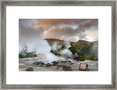 Furnas Framed Print by Andre Goncalves