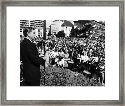 Future President, Ronald Reagan Framed Print by Everett