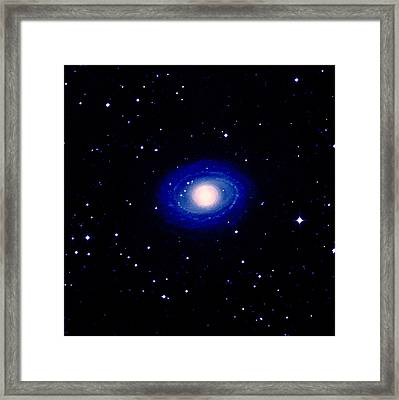 Galaxy Ngc 1398 Framed Print by Celestial Image Co.