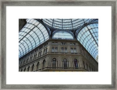 Galleria Umberto 1 Framed Print by Terence Davis