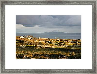 Galway Bay, Co Galway, Ireland Bay Near Framed Print by The Irish Image Collection