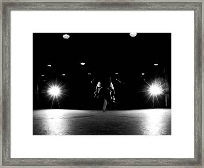 Game Of Skate Framed Print by Cale Best