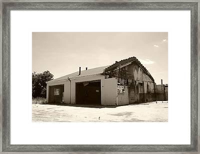 Garage No More Framed Print by Nina Fosdick