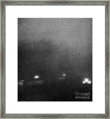 Garden City, Dust Storm Sequence, 2 Framed Print by Science Source