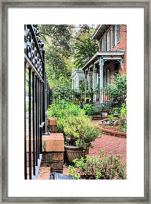 Garden Party Framed Print by JC Findley