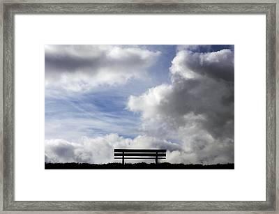 Garden Seat Framed Print by Fabrizio Troiani