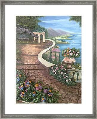 Garden View 3 Framed Print by Prashant Hajare