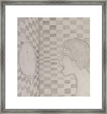 Garlic Breath Framed Print by Darien Wendell