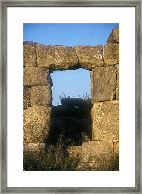 Gate Fichti Framed Print by Andonis Katanos