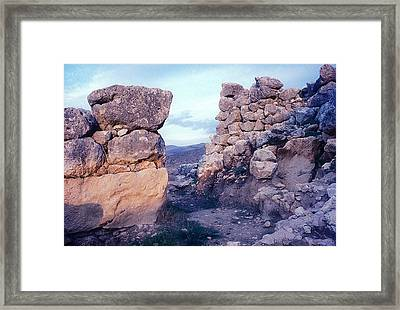 Gate Megalithic Framed Print by Andonis Katanos