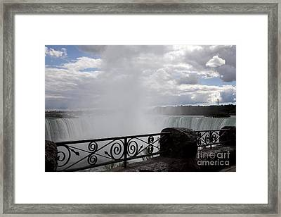 Gate To Fall Framed Print by Amanda Barcon