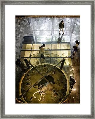 Gate To The Underworld Framed Print by Lynn Palmer