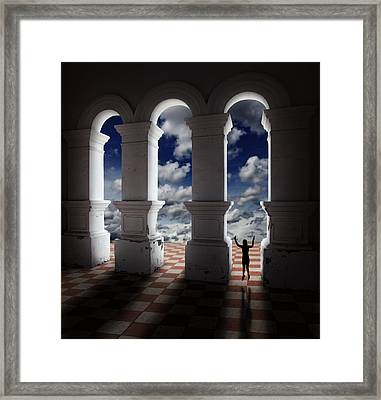 Gateway Of Pearly Hall Framed Print by Gwoeii Ho