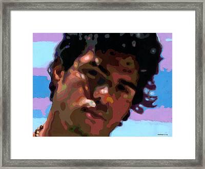 Gato Framed Print by Douglas Simonson