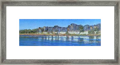 Geikie Gorge Framed Print by Nadine Kelly