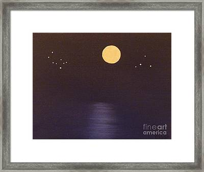 Gemini And Libra Framed Print by Alys Caviness-Gober