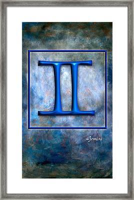 Gemini  Framed Print by Mauro Celotti
