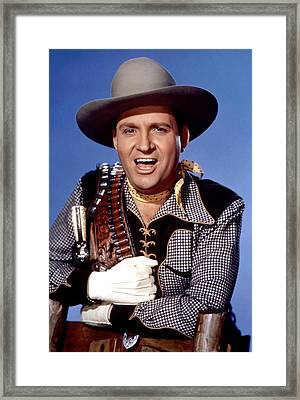 Gene Autry, Circa 1940s Framed Print by Everett