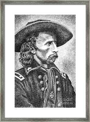 General Custer Framed Print by Gordon Punt