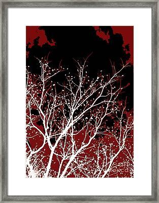 Genesis Framed Print by Glennis Siverson