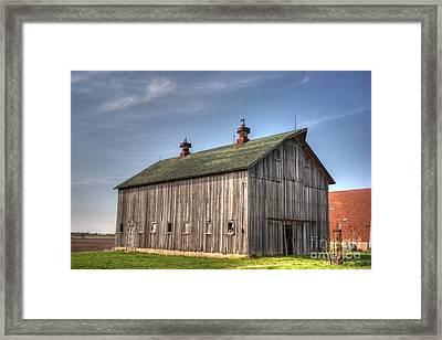 Genoa Farm Framed Print by David Bearden