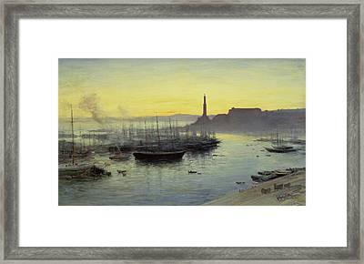Genoa Framed Print by John MacWhirter