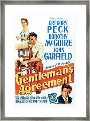 Gentlemans Agreement, Dorothy Mcguire Framed Print by Everett
