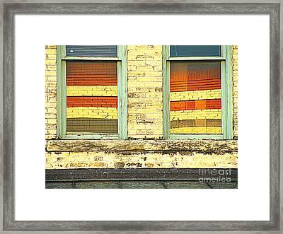 Geological Offices Framed Print by Joe Jake Pratt