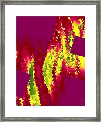 Geometric Art Designs Framed Print by Mario Perez