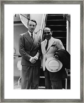 George Balanchine 1907-1983, And Lorenz Framed Print by Everett