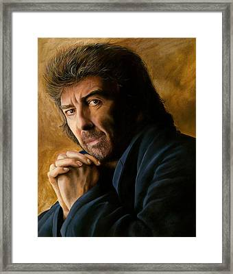 George Framed Print by Douglas Fincham