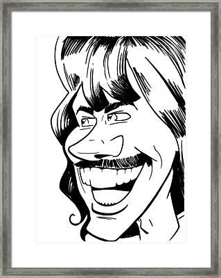 George Harrison Framed Print by Big Mike Roate