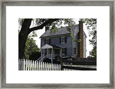 George Peers House Appomattox Virginia Framed Print by Teresa Mucha