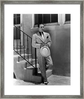 George Raft, Paramount Pictures, 1930s Framed Print by Everett