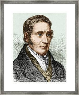 George Stephenson (1781-1848) Framed Print by Sheila Terry