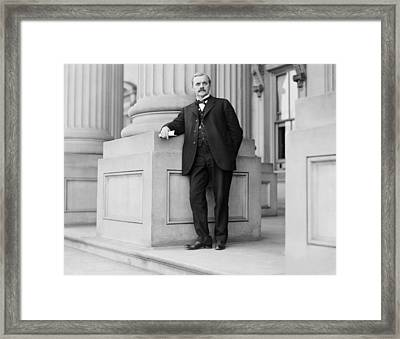 George W. Norris 1866-1944, Nebraska Framed Print by Everett