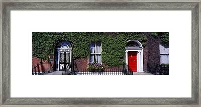 Georgian Doors, Fitzwilliam Square Framed Print by The Irish Image Collection
