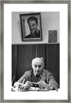 Georgy Flyorov, Soviet Nuclear Physicist Framed Print by Ria Novosti