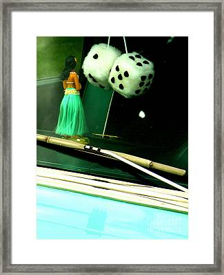 Get Lucky Framed Print by Joe Jake Pratt