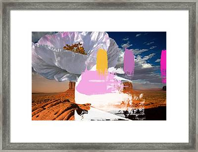 Ghost Chief 2 Framed Print by Geronimo